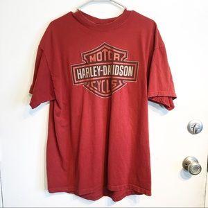 Harley Davidson Motorcycles Little River Tee Shirt